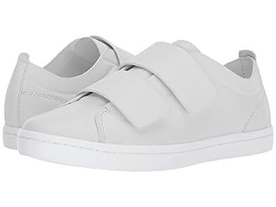 Lacoste Women's Straightset Strap 118 1 Caw Sneaker, Light Grey/White, 6 M US