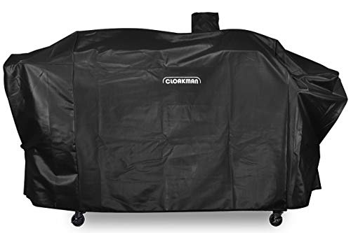 Cloakman Premium Heavy-Duty Series Pit Boss Memphis Ultimate Grill Cover and Smoke Hollow PS9900 DG1100S 4in1 Combo Grill Cover (Memphis Pellet Grill)