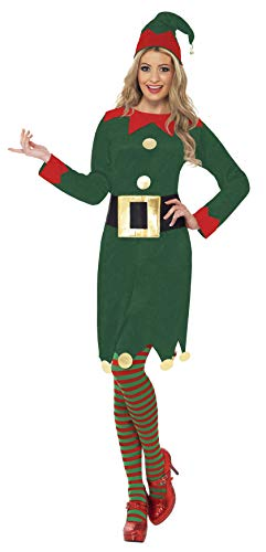 Elf Dress Adult Costume - ()