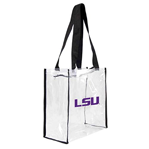 NCAA LSU Tigers Clear Square Stadium Tote ()