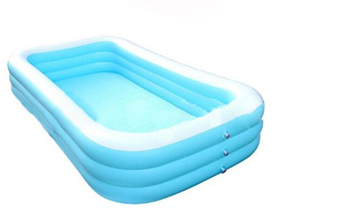 DU&HL Extra Large Children Inflatable Family Pool, Inflatable