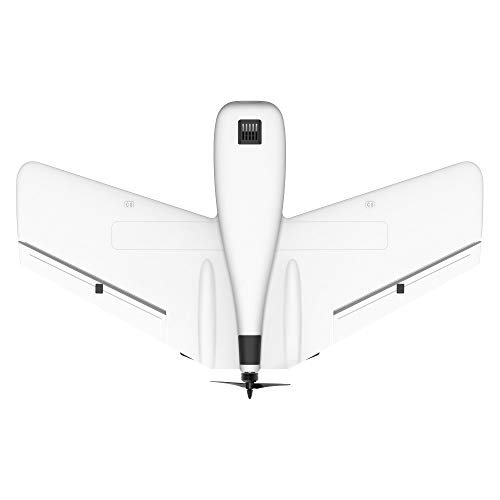 Hisoul ZOHD Dart Sweepforward Delta Wing Glider FPV EPP Racing Wing RC Airplane PNP (White) by Hisoul (Image #2)