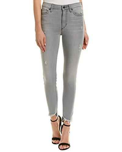 Joe's Jeans Womens The Charlie Janine High-Rise Skinny Leg, 28, Grey