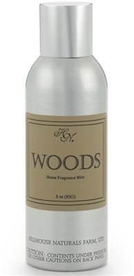 HILLHOUSE WOODS Naturals Fragrance Mist - Room Spray 3 oz