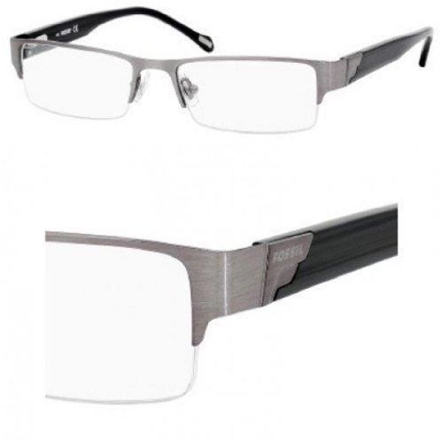 FOSSIL Monture lunettes de vue NICHOLAS 0JCA Bakélite brossée 52MM