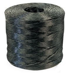 Polypro Tomato Twine - Black - 1890' Ft/Lb, 65 lbs Tensile, 3# tube (1 Tube) - CWC-031100 by Miller Supply Inc