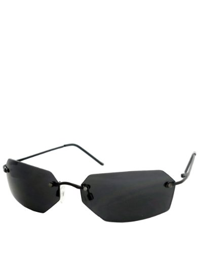de Gafas espejo Agente Smith montura Humo Sin lentes Estilo 5qU07w
