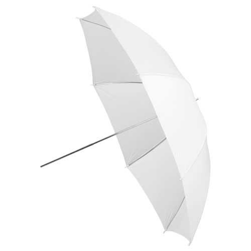 Fotodiox Premium Grade 43-Inch Shoot-Through Translucent Neutral White Umbrella Umb-43-White