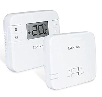 Termostato digital de la marca Salus, RT310RF, con radio frecuencia, inalámbrico, con receptor, repuesto directo para RT300RF: Amazon.es: Bricolaje y ...