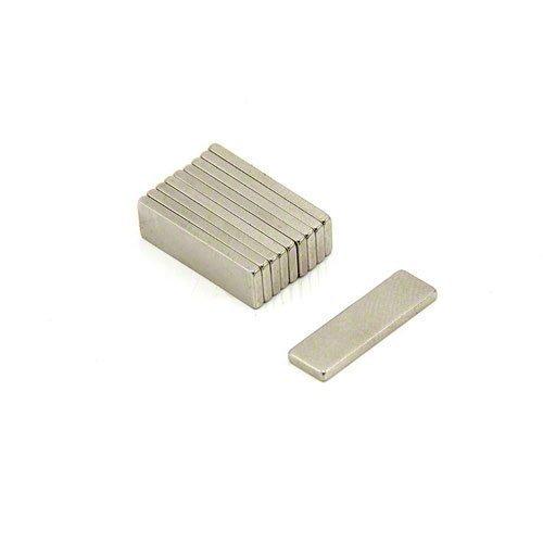 51 opinioni per Magnet Expert Ltd 2- Confezione da 10 magneti al neodimio, 20 x 6 x 1,5 mm, fino