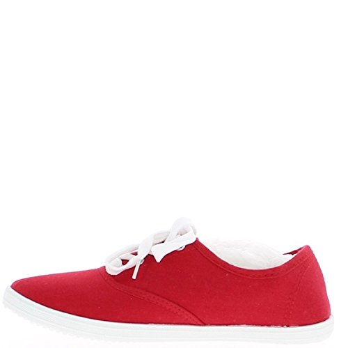 Gefüllte rote High – Top Schuhe Damen Turnschuhe