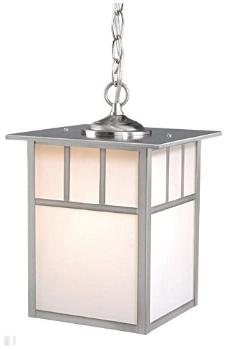 Vaxcel One Light Outdoor Pendant OD14696ST One Light Outdoor Pendant
