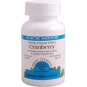 Eclectic Institute Cranberry - Cranberry 300mg Freeze-Dried - 120 - VegCap