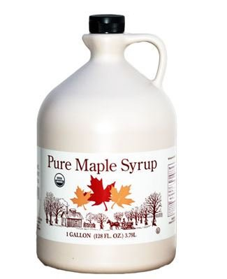 Butternut Mountain Farms Organic Pure Maple Syrup, Grade B - 1 Gallon
