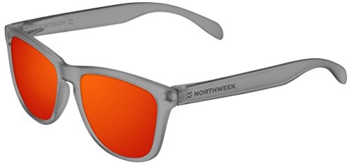 Wheel Unisex 52 Gafas Sol de NORTHWEEK Rojo Regular 5Xwgxq4f