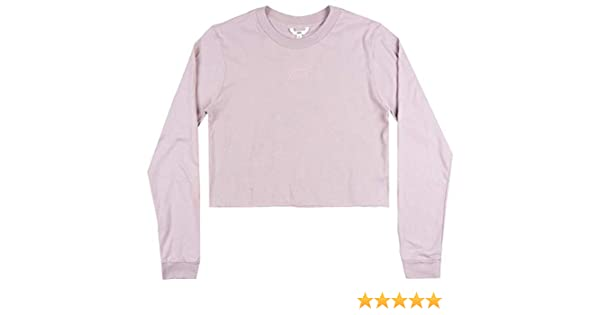 bb2988d7ff3 Amazon.com: Vans Off The Wall OTW Classic Crop TOP LS Shirt Womens Skate  Boyfriend FIT XL White: Clothing