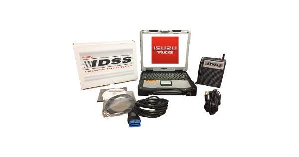 Amazon Com Isuzu Idss Truck Laptop Kit De Diagnóstico
