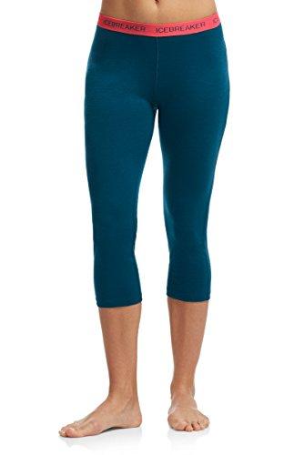 Icebreaker Hose Legging Oasis Legless - Prenda Azul - Night/Grapefruit