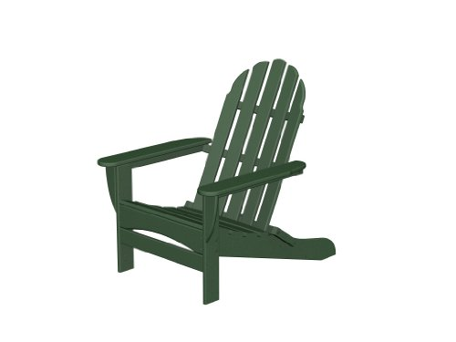 Recycled Plastic Adirondack Curveback by Polywood Frame C...