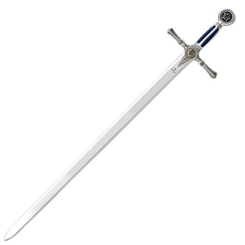 Windlass Steelcrafts Marto of Spain Sword of the Freemasons - 24K Gold Plating by Marto of Spain