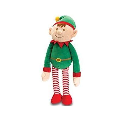 Keel Toys Dangle Elf Peluche Peluche (de GREEN20CM)