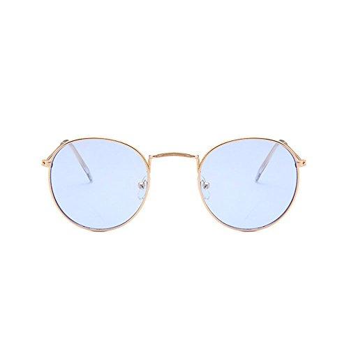 de protección mujeres vendimia Glasses las de de Puntos sol de la Sun Gafas attachmenttou solar Gafas 15 Unisex redondas Fna55q