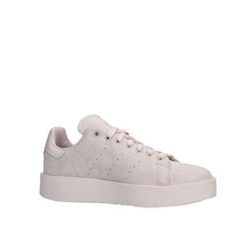 adidas Damen Stan Smith Bold W Gymnastikschuhe, White Grey Pulver
