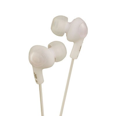 White JVC Gumy Plus Inner-Ear Earbuds ( 30 PACK ) BY NETCNA