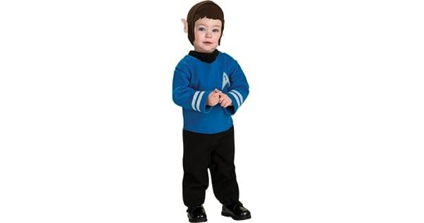 Amazon.com: Little Spock Infant/Toddler Costume, bebé mayor ...