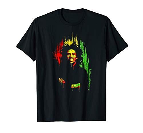 Vintage Marleys Retro Classic Bob T-Shirt Mens Women Girls