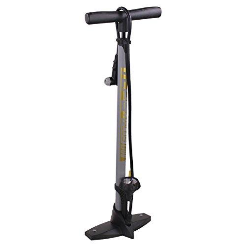 Serfas Thermo Carbon Plus Bicycle Floor Pump w/Gauge - TCPG-PLUS (Bicycle Serfas Pump)