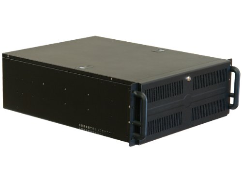 NORCO 4U Rack Mount 3 x 5.25-Inch Drive Bay, 10 x 3.5-Inch Drive Bays Server Chassis RPC-450B