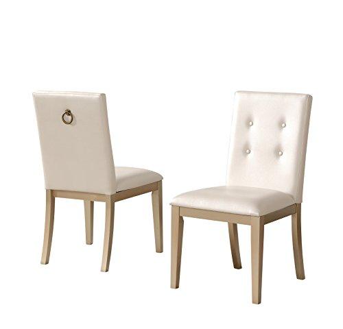 Abbyson Living RK-1943-2PCK Callie Zen Dining Chair (Set of 2)