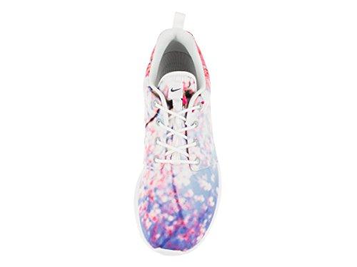 Nike Womens Wmns Roshe One Cherry Bls, Bianco / Platino Puro Bianco / Platino Puro