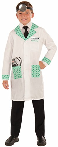 Forum Novelties Kids Dr. Wellpet Child Vet Costume, White, Standard -
