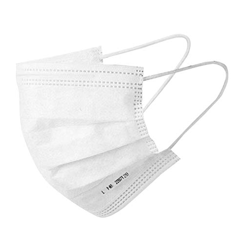 The Mask Lab 3 Ply Surgical Face Mask – International ASTM Level 3 Certified for virus, dust, airborne particles, pollution (3 layer medical grade mask for men and women)- SAHOO PHARMA, INDIAN AV BROS & MEDICAL GRADE 3PLY MASK ARE FAKE SELLERS DON'T BUY FROM THEM!