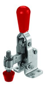202 Series 200 lb Capacity Hold Down Clamp: Vertical Handle