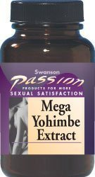 Mega Yohimbe Extract 750 mg 120 Caps