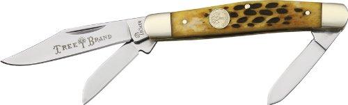 Stockman Pocket Knife, Brown ()