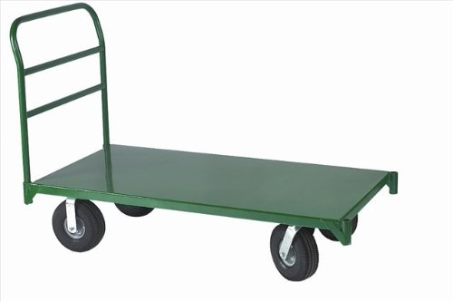 Wesco-Industrial-Products-272266-12-Gauge-Steel-Platform-Truck-4000-Pound-Capacity-36-Length-x-24-Width-Platform