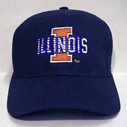 Illinois University Fiber Optic Hat ()