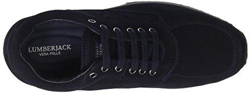 Sneaker Blu Collo Raul Blue Uomo Basso a Navy Lumberjack 4wq5fxgw