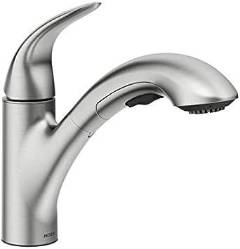 Moen 87039srs Medina One Handle Pullout Kitchen Faucet Spot Resist Stainless Amazon Com