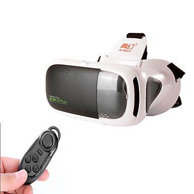 RITECH 3plus Virtual Reality VR 3D Glasses Bluetooth Controller