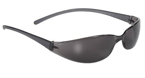 Pacific Wrap Sunglasses - Pacific Coast Skinny Joes Slim Glasses (Black Frame/Smoke Lens)