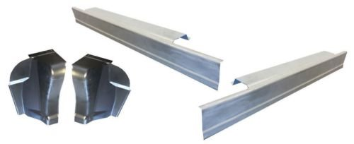 Motor City Sheet Metal - Works With 1997-2003 FORD F-150 PICKUP STANDARD REGULAR CAB ROCKER PANELS AND CAB CORNERS