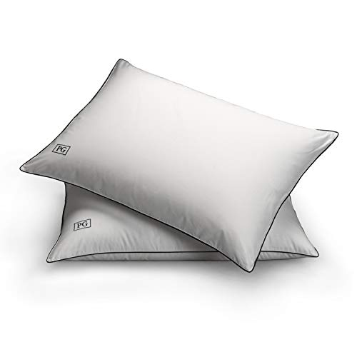 Pillow Guy White Down Side & Back Sleeper Overstuffed Pillow Certified RDS (Set of 2) Standard/Queen