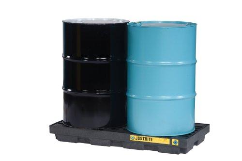 Justrite 28655 EcoPolyBlend 24 Gallon Sump, 49
