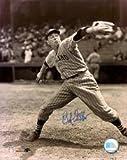 Autographed Bob Feller 8x10 Cleveland Indians Photo