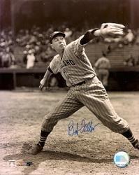 Autographed Bob Feller 8x10 Cleveland Indians (Bob Feller Merchandise)